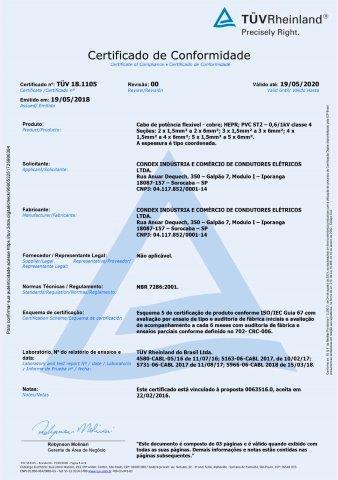 TUV 18.1105 HEPR Multipolar  C4 rev. 00