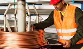 Indústria de cabos de cobre